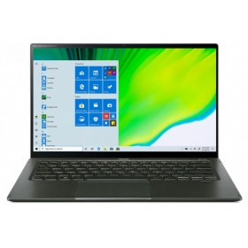 Ноутбук Acer Swift 5 SF514-55TA-71JH (NX.A6SER.006) 14.0'' FHD(1920x1080) IPS/TOUCH/ Intel Core i7-1165G7 2.80GHz Quad/ 16GB+1TB SSD/ Integrated/ WiFi/ BT/1.0MP/4cell/ 1,05 kg/ W10Pro/ 3Y/ GREEN