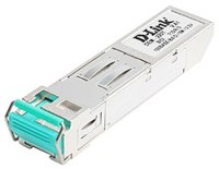 Трансивер D-Link DEM-220T/10, 100Base-BX-D Single-Mode 20KM SFP Transceiver (TX-1550/RX-1310 nm, 10 pcs bundle)