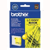 Картридж Brother LC1000Y yellow for DCP-130/330