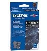 Картридж Brother LC1100BK black для DCP-385C/ MFC-990CW/ DCP-6690CW (450 стр)