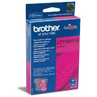Картридж Brother LC1100HYM magenta для DCP-6690CW cyan (750 стр)
