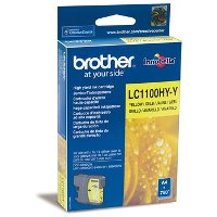 Картридж Brother LC1100HYY yellow для DCP-6690CW cyan (750 стр)