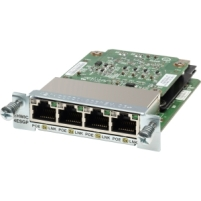 Модуль Cisco EHWIC-4ESG= Four port 10/100/1000 Ethernet switch interface card