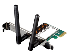 Адаптер D-Link DWA-548 Wireless N PCIe Desktop Adapter