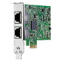 Адаптер HP Ethernet Adapter, 332T, Broadcom, 2x1Gb, PCIe(2.0), for DL165/580/980G7 & Gen8-servers
