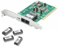 Адаптер D-Link DFE-551FX, 100Base-FX Managed Fibre NIC (SC, multimode up to 2 km) (PCI)