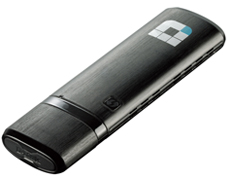 Сетевой адаптер D-Link DWA-182/RU/D1A, Wireless AC1200 Dual-band USB Adapter.802.11a/b/g/n and 802.11ac (draft), switchable Dual band 2.4 GHz or 5 GHz. Up to 867 Mbps data transfer rate in 802.11ac mode (5 GHz), up