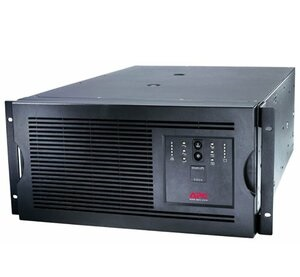 ИБП APC Smart-UPS 5000VA/4000W, 230V, Rackmount/Tower, 5U height, Line-interactive, Hot Sw. User Repl. Batt., SmartSlot, PowerChute