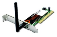 Адаптер PCI D-Link DWA-510, WIRELESS G 54MBPS PCI ADAPTER 802.11G,11/54MBPS