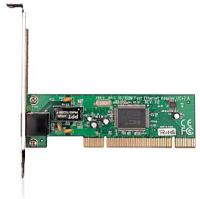 Адаптер TP-Link TF-3200, 10/100M PCI Network Interface Card, IC Plus IP100A chip, RJ45 port, driver CD, retail package