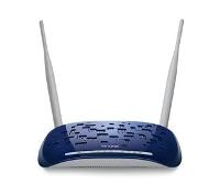Точка доступа TP-Link TD-W8960N, Wireless N ADSL2+ Modem Router, 802.11n/g/b 300Mbps ,  Annex A, with ADSL spliter, 2 detachable Antennas, 4-port RJ-45