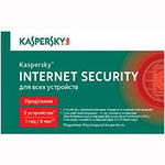ПО Kaspersky Internet Security Multi-Device Russian Edition. 2-Device 1 year Renewal Card