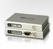 Конвертер ATEN UC2322, 2 PORT USB TO RS232 CONVERTER W/1.8M