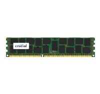 Модуль памяти Crucial 16GB DDR3 1600 MT/s (PC3-12800) DR x4 RDIMM 240p