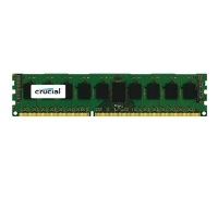 Модуль памяти Crucial by Micron DDR-III 8GB (PC3-12800) 1600MHz ECC Reg, DR x8, 1.35V (Retail)