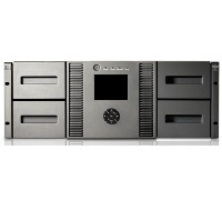 Ленточная библиотека HP MSL4048 0-Drive Tape Library (up to 2 FH or 4 HH Drive), incl. Rack-mount hardware, Yosemite Server Backup software