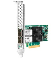 Сетевой адаптер HP Ethernet Adapter, 546SFP+, 2x10Gb, PCIe(3.0), Mellanox, for Gen9 servers