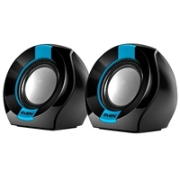 Колонки Sven 150 Black-Blue USB, 2.0, мощность 2x2,5 Вт(RMS)