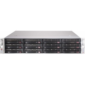 "Дисковый массив Supermicro Storage JBOD Chassis 2U 826BE1C-R741JBOD Up to 12 x 3.5""""/ Expander Backplane(4xminiSASHD SFF-8643)"