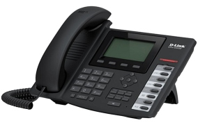 Телефон D-Link DPH-400GE/F2B Business VoIP Phone POE support