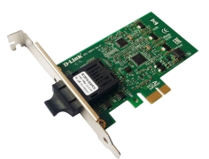 Сетевой адаптер D-Link DFE-560FX/A1A, 100Base-FX PCI-Express FastEthernet adapter with SC fiber optical connector