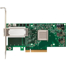 Адаптер Mellanox MCX415A-CCAT ConnectX-4 EN network interface card, 100GbE single-port QSFP28, PCIe3.0 x16, tall bracket, ROHS R6