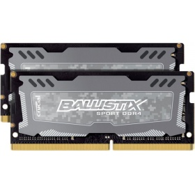 Модуль памяти Crucial 8GB Kit (4Gbx2) DDR4 2400 MT/s (PC4-19200) CL16 SR x8 Ballistix Sport LT SODIMM 260pin