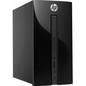 ПК HP 460-a210ur MT (4XJ29EA), Pentium J3710, 4GB DDR4 1600 (1x4GB), 1TB, Intel HD Graphics 630, DVD-RW, No Keyboard&Mouse, black, FreeDos 2.0, 1Y Wty