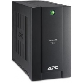 ИБП APC Back-UPS 750VA/415W, 230V, 4 Schuko outlets (1 Surge & 3 batt.), USB, user repl. batt., 2 year warranty