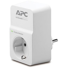 Сетевой фильтр APC PM1W-RS Essential SurgeArrest 1 outlets, 16A, white
