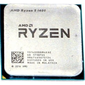 Процессор AMD Ryzen 5 1400 AM4 OEM