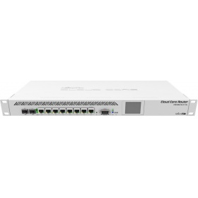 Маршрутизатор MikroTik CCR1009-7G-1C-1S+ Cloud Core Router  with Tilera Tile-Gx9 CPU (9-cores, 1.2Ghz per core), 2GB RAM, 7xGbit LAN, 1x Combo port (1