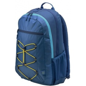 "Рюкзак HP Active Backpack Navy Blue/Yellowcons (for all hpcpq 10-15.6"""" Notebooks) cons"