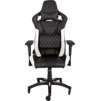 Игровое кресло Corsair Gaming™ T1 RACE, Gaming Chair, High Back Desk and Office Chair, Black/White (CF-9010002-WW)