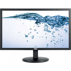 "Монитор 21.5"" AOC E2280SWHN Black (LED, 1920x1080, 5 ms, 90°/65°, 200 cd/m, 20M:1, +HDMI)"