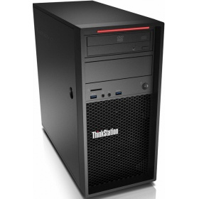 ПК Lenovo P320, Tower 400W, CORE_I7-7700_3.6G_4C_65W, 1 x 8GB_DDR4_2400_UDIMM, 1 x 256GB_SSD_2.5_SATA3, INTEGRATED VIDEO, DVDRW, W10_P64-RUS (30BH000ERU)