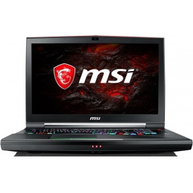 "Ноутбук MSI GT75VR 7RE(Titan SLI 4K)-054RU (9S7-17A211-054) 17.3""(3840x2160)/ Intel Core i7 7820HK(2.9Ghz)/ 32768Mb/ 1000+512SSDGb/noDVD/ Ext:nVidia GeForce Dual GTX1070(8192Mb)/Cam/ BT/ WiFi/75WHr/war 2y/ 4.14kg/ black/W10"