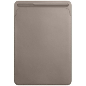 Чехол Apple Leather Sleeve for 10.5 iPad Pro - Taupe