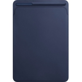 Чехол Apple Leather Sleeve for 12.9 iPad Pro - Midnight Blue