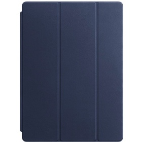 Чехол Apple Leather Smart Cover for 12.9 iPad Pro - Midnight Blue
