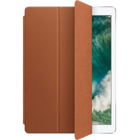Чехол Apple Leather Smart Cover for 12.9 iPad Pro - Saddle Brown