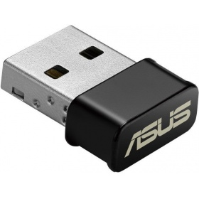 Адаптер ASUS WiFi Adapter USB-AC53 Nano (USB2.0, WLAN 1200Mbps Dual-band 2.4GHz+5.1GHz, 802.11ac) 2x int Antenna