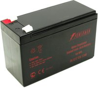 Батарея POWERMAN Battery CA1272, voltage 12V, capacity 7Ah, max. discharge current 105A, max. charge current 2.1A, lead-acid type AGM, type of terminals F2, 151mm x 65mm x 94mm, 2.21 kg.
