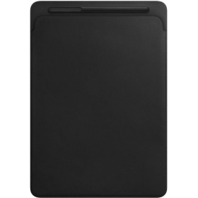 Чехол Apple Leather Sleeve for 12.9 iPad Pro - Black (MQ0U2ZM/A)