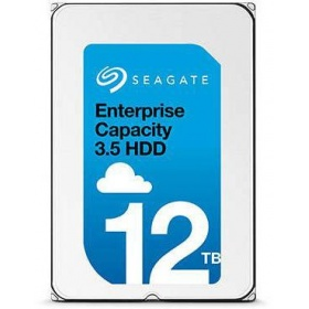 "Жесткий диск HDD 12Tb Seagate Enterprise Capacity (Helium) 512E Exos X12 ST12000NM0007 3.5"""" SATA 6Gb/s 256Mb 7200rpm"