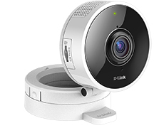 "Интернет-камера D-Link DCS-8100LH/A1A, 1 MP Wireless HD Day/Night Ultra-Wide 180° View Cloud Network Camera.1/2,7"""" 1 Megapixel CMOS sensor, 1280 x 720 pixel, 30 fps frame rate, H.264/MJPEG compression, Fixed lens: 1"