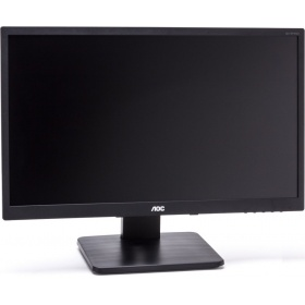 "Монитор 23,8"" AOC I2475PXQU (I2475PXQU/GR) 1920x1080 IPS LED 16:9 4ms VGA DVI HDMI DP 4xUSB2.0/USB3.0 20M:1 178/178 250cd HAS Pivot Tilt Swivel Speakers Silver"