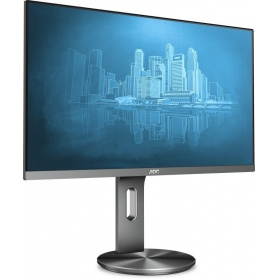 "Монитор 27"" AOC Q2790PQU 2560x1440 IPS LED 16:9 4ms VGA HDMI 20M:1 178/178 350cd Silver/Black"