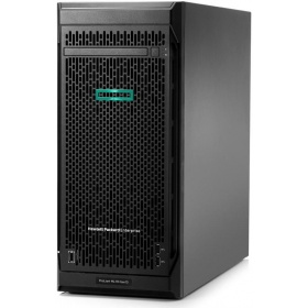 Сервер HP ProLiant ML110 Gen10 (P10806-421) Bronze 3204 NHP Tower(4.5U)/ Xeon6C 1.9GHz(8,25MB)/ 1x8GbR1D_2933/ S100i(ZM/RAID 0/1/10/5)/ noHDD(4/8up)LFF/noDVD/ iLOstd/2NHPFan/ 2x1 GbEth/ 1x350W(NHP)