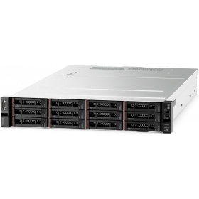 "Сервер Lenovo TCh ThinkSystem SR550 (7X04A005EA) Rack 2U, Xeon 4108 8C (1.8GHz/85W), 16GB/1Rx4 RDIMM, noHDD 2,5"""" (up to 8/16), SR 530-8i, noDVD, nofree PCI, 2xGbE,1x750W Platinum p/s (up to 2),1 power cord,XCC Standart"